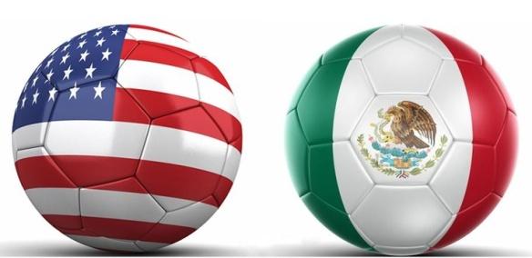 USA v MEX balls